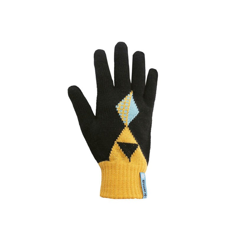 Mănuși Merino tricotate Kama RB207