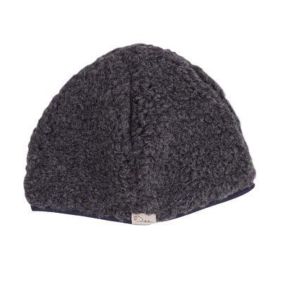 Sheep wool hat - Dark Gray