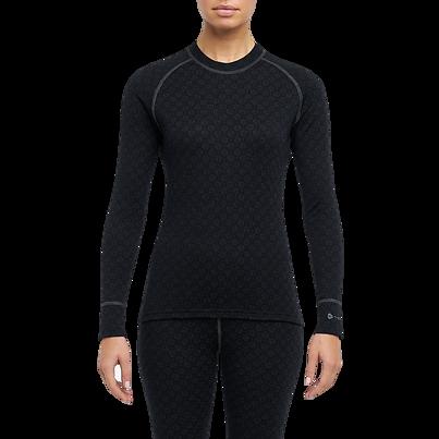 Tricou funcțional merino femei XTREME Thermowave - Negru