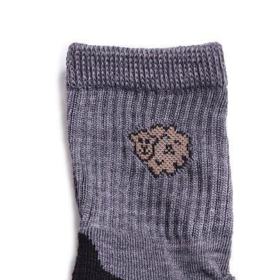 Dětské ponožky Merino 2 páry tmavě šedá