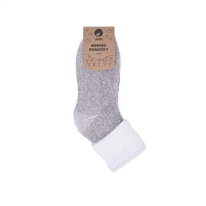 Ovčí ponožky Merino froté