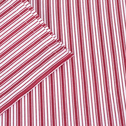 Placemat - Red stripes
