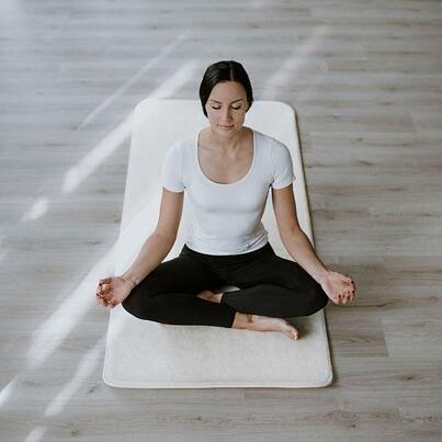 Merino wool Yoga mat