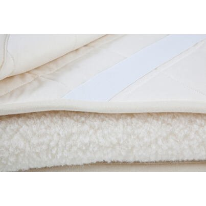 Lepedő birka gyapjúból NATURAL Plus - Természetes fehér