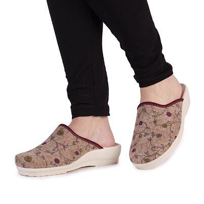 Dámské pantofle Irena béžová