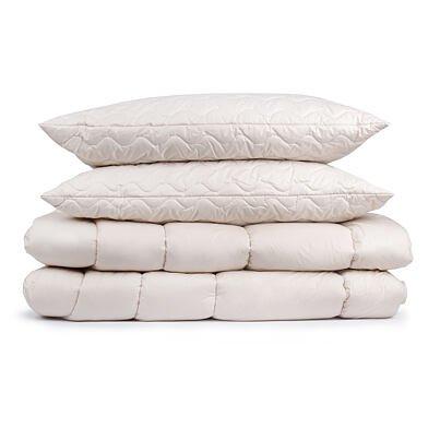 Setul de pat matlasat Premium de iarnă pentru doi