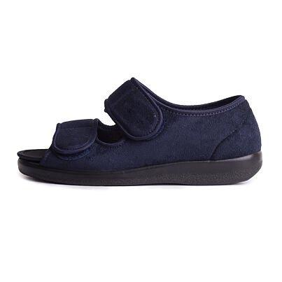 Medical open bandage shoes -  Blue