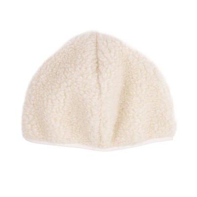 Sapka birka gyapjúból - természetes