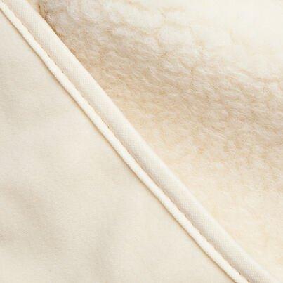 Térdvédő birka gyapjúból