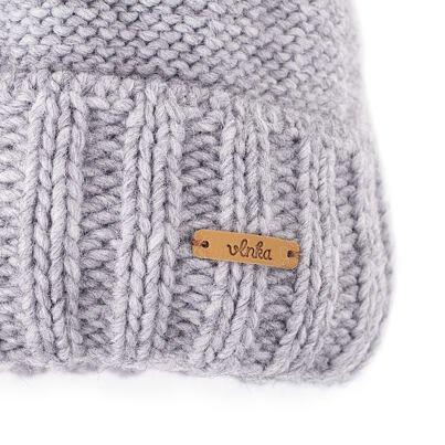 Wool cap Vlnka V03 - Light gray