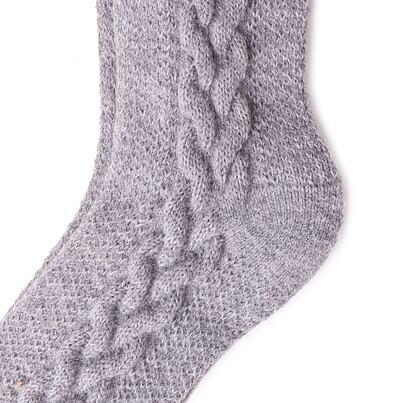 Tradiční ovčí ponožky Merino šedá