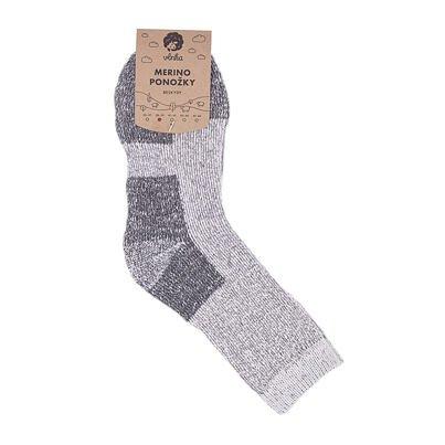 Ovčí ponožky Merino Beskydy