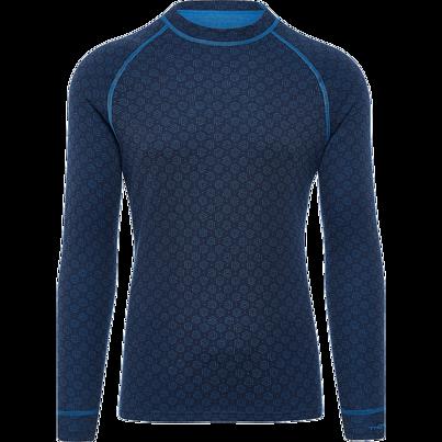 Tricou funcțional merino bărbați XTREME Thermowave -  Albastru închis