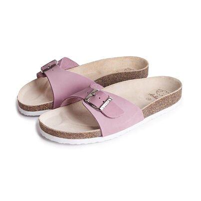Păpuci ortopedici din plută pentru femei Laura - Roz