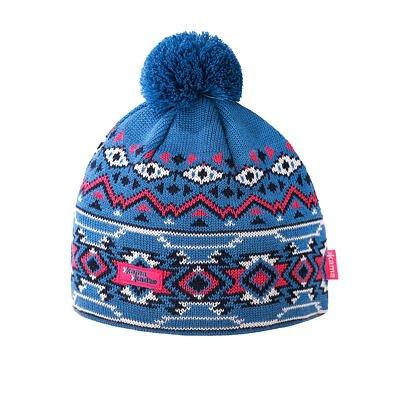 Pletená Merino čiapka Kama K60 Svetle modrá svetlomodrá