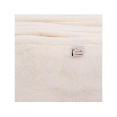 Gyerek takaró birka gyapjúból  - természetes