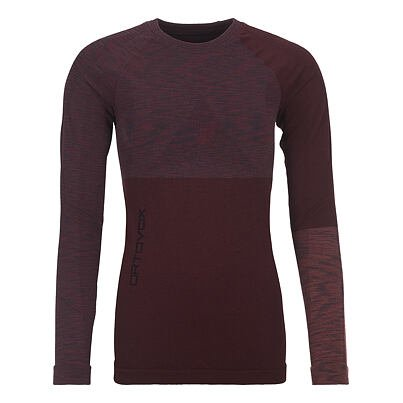 Women's merino shirt 230 Competititon long sleeve Ortovox -  Hot Coral