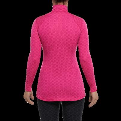 Női funkcionális felső cipzárral MERINO XTREME Thermowave -  Rózsaszín