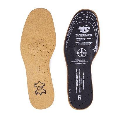 Kožené vložky do bot pěnové