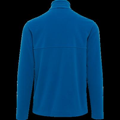 Pánská fleecová mikina se zipem Thermowave modrá