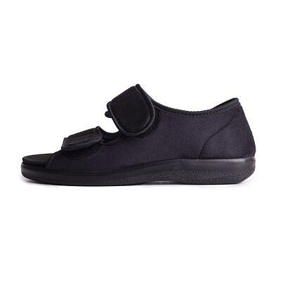 Zdravotná obväzová obuv otvorená Čierna