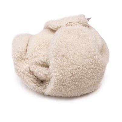 Baranica z ovčej vlny  prírodná