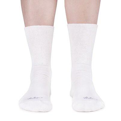 Szibériai Merinó zokni 2 pár  Fehér
