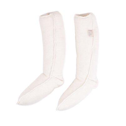 Elastic knee socks Merino