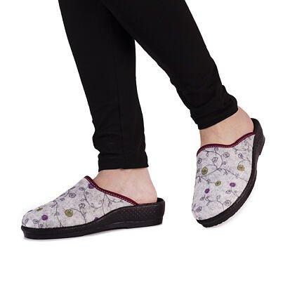 Dámské pantofle Irena šedá