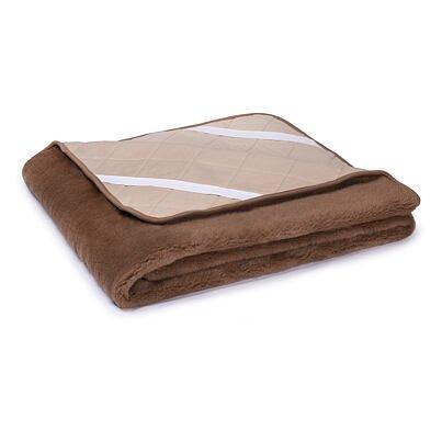 Lepedő birka gyapjúból CAMEL Plus - Barna