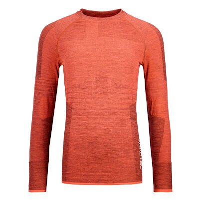Women's merino shirt 230 Competititon long sleeve Ortovox - Coral
