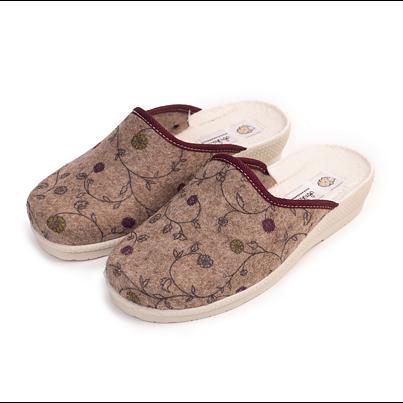 """Women's slippers """"Irena"""" -  Beige"""