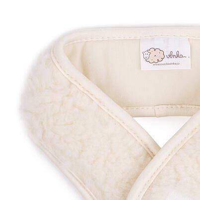 Wool neck brace