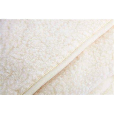 Kétrétegű birka gyapjú takaró - természetes