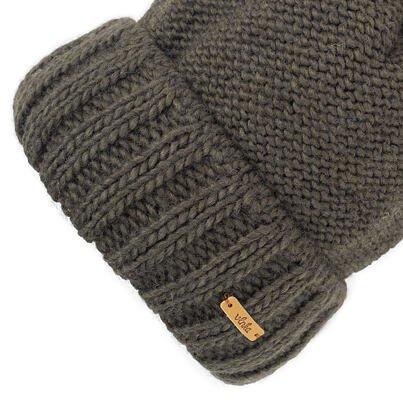 Wool cap Vlnka V03 - Green