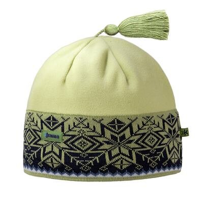 Pletená čepice merino Kama A52 černá