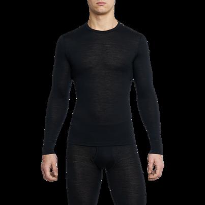 Férfi funkcionális merinó felső ONE50 Thermowave - fekete