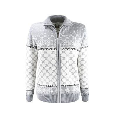 Women's sweater Merino Kama 5012 Light Gray