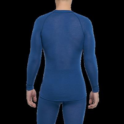 Pánske funkčné tričko merino WARM Thermowave Modrá