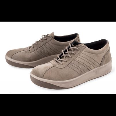 Semišová obuv Prestige  hnedá