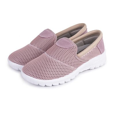 Women's breathable orthopedic sneakers -  Pink