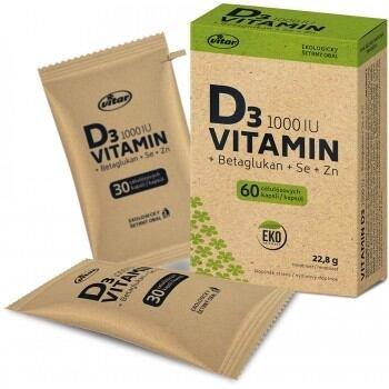 D3 vitamin 60 kapszula ECO