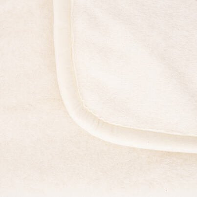 Egyrétegű birka gyapjú és kasmírgyapjú takaró - természetes