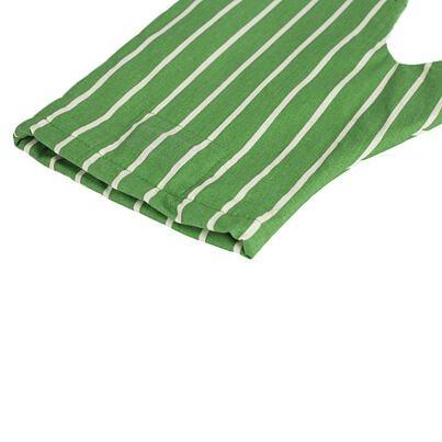Mágneses edényfogó kesztyű - zöld csík