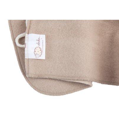 Newborn embroidered jacket - Beige