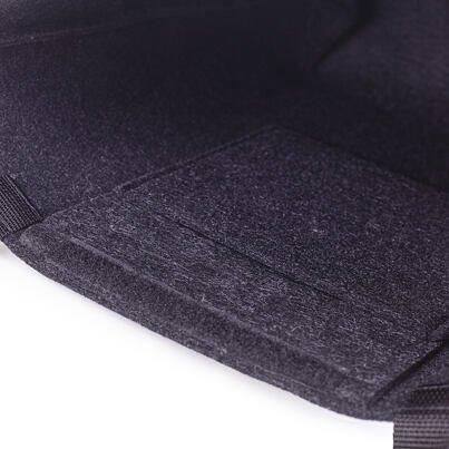 Filcová taška s dlouhými uchy černá