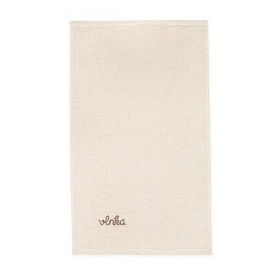 Bavlněný ručník Vlnka přírodní