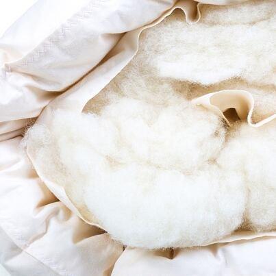 Plapumă matlasată Tradițională cu lână de oaie pentru copii 95x135