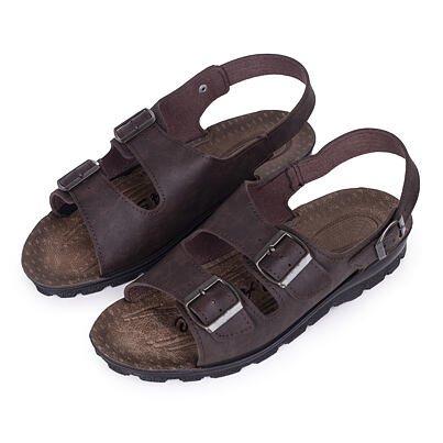 """Men's summer sandals """"Dan"""" -  Brown"""