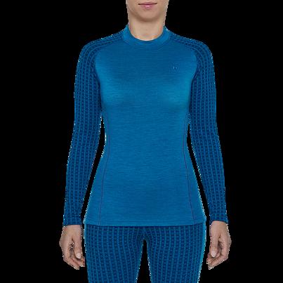 Dámske funkčné tričko merino XTREME Thermowave Modrá